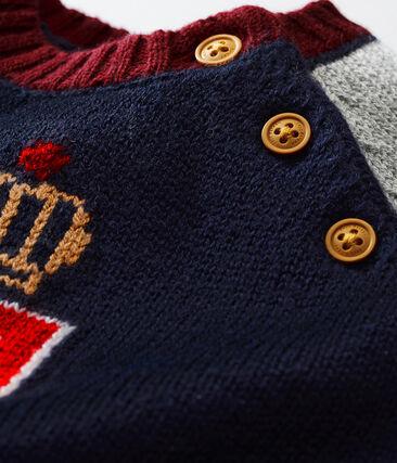 Jersey de lana y algodón para bebé niño