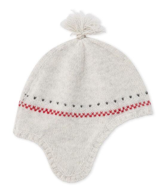 Gorro peruano de lana para bebé unisex gris Montelimar Chine