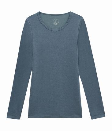 Camiseta de manga larga para mujer
