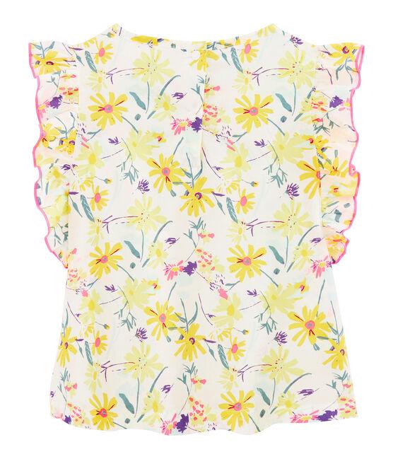 Blusa de niña blanco Marshmallow / blanco Multico