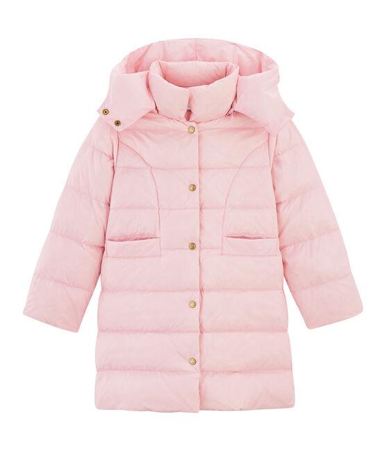 Plumas infantil de plumón para niña rosa Fleur Cn