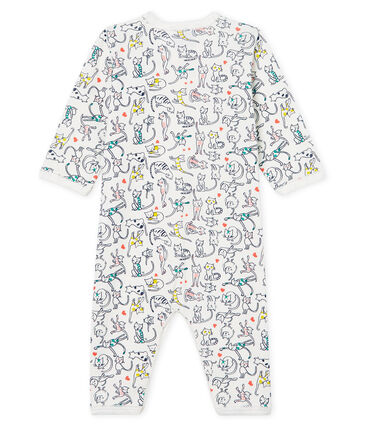 Pijama sin pies de punto para bebé niña