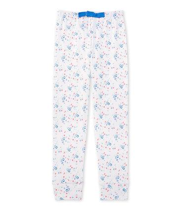 Bajo de pijama estampado combinable para niña