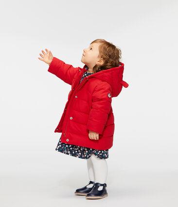 Plumas de microfibra para bebé niña rojo Terkuit