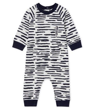 Mono largo Jean Jullien para bebé niño MARSHMALLOW/DASH CN