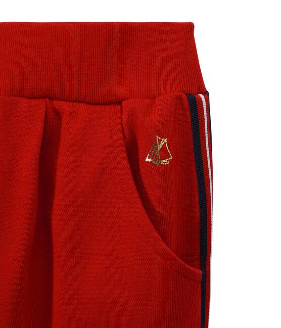 Pantalón malla de niña rojo Terkuit