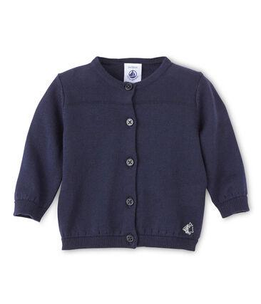 Cárdigan de bebé para niña en algodón