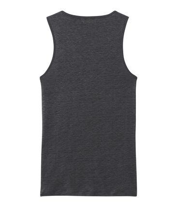 Camiseta sin mangas de lino para mujer gris Maki / gris Argent