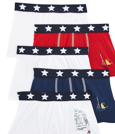 Pack de 5 boxers para niño