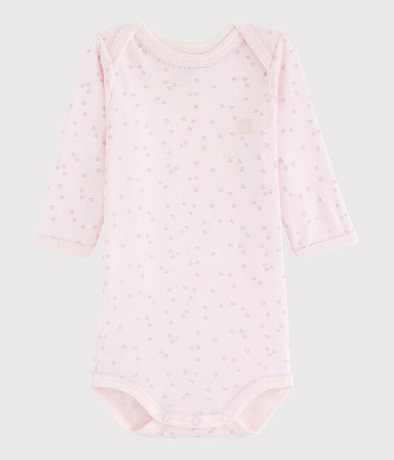 Bodi de manga larga de bebé niña VIENNE/SILENE