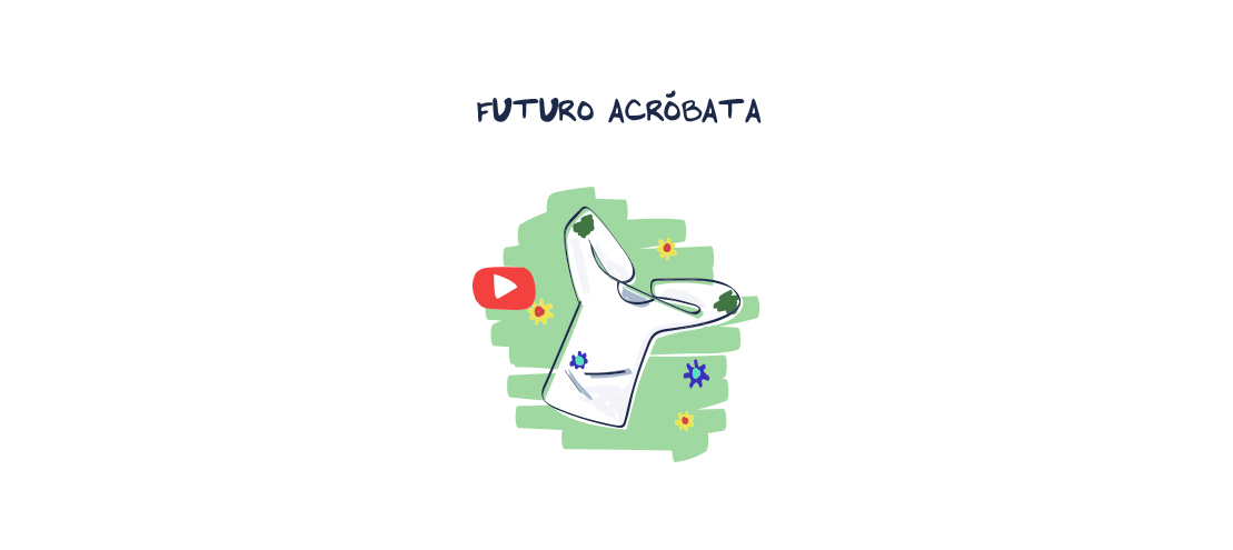 Video Segunda Vida Futuro acróbata Petit Bateau