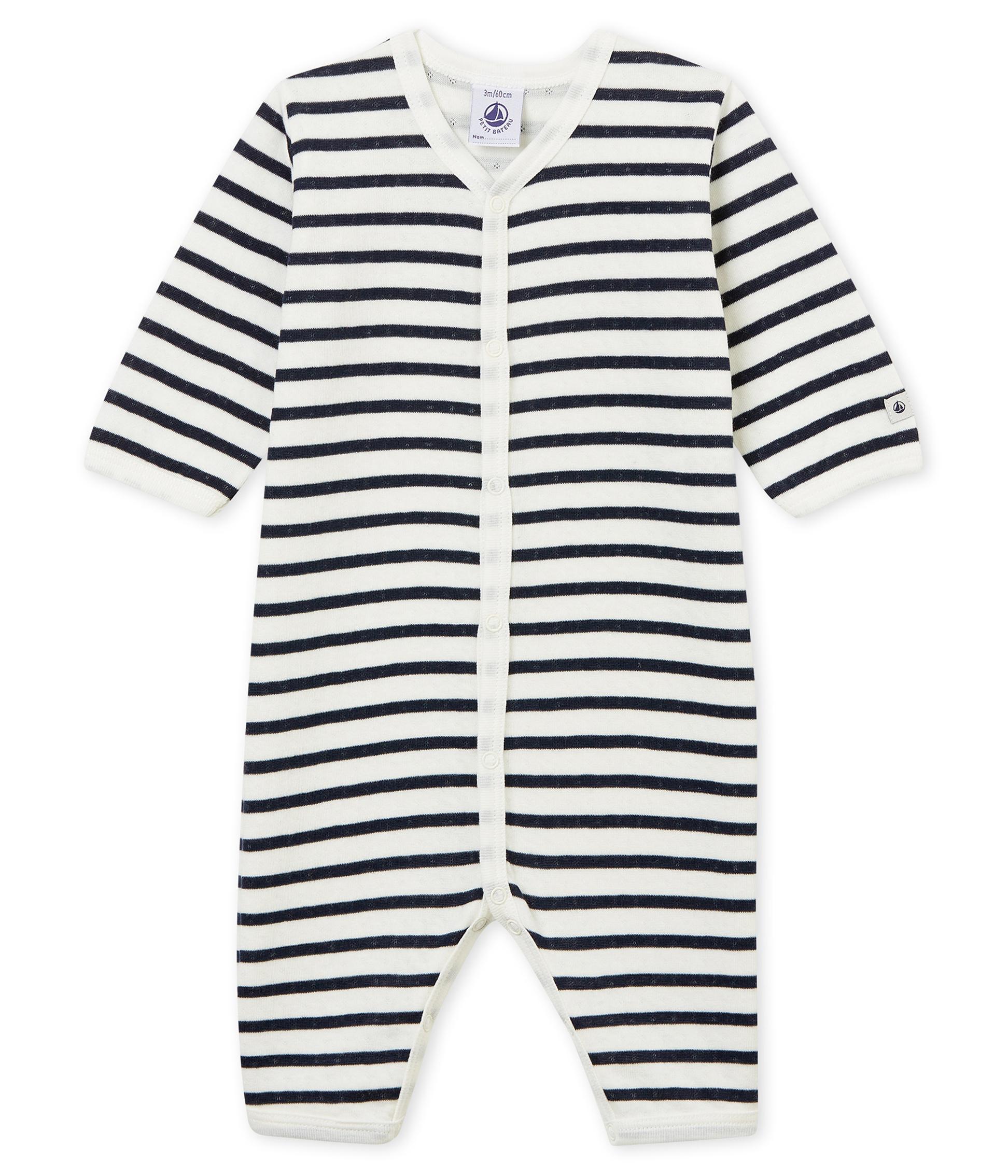 dd3cfc006 Pijama unisex de bebé sin pies en túbico | Petit Bateau
