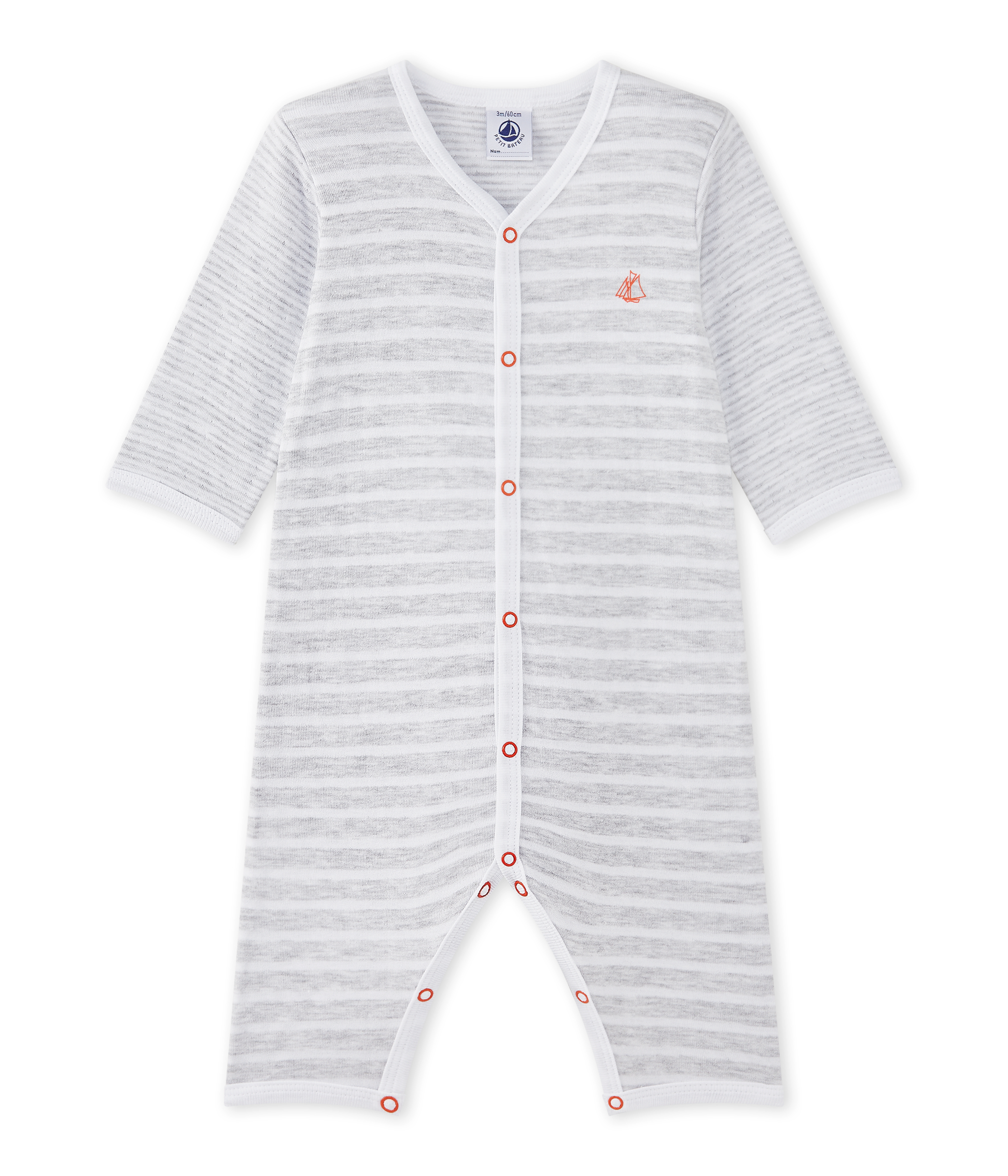 a295c3d1e Pijama sin pies para bebé niño | Petit Bateau